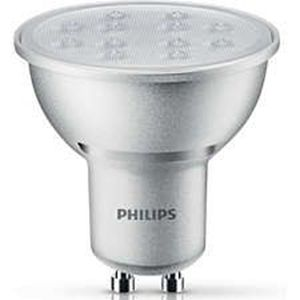 Picture of Philips LED Spot 5.5W (50W) GU10 Warm white Dimmable